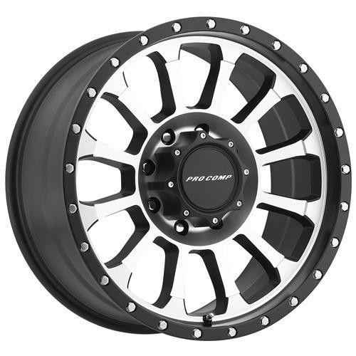 Series 3534 Rockwell 18x9 With 6 On 5 5 Bolt Pattern Machined