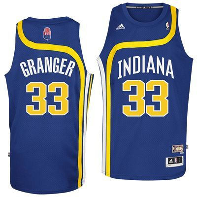 cheap for discount 170fc 98025 Indiana Pacers Danny Granger #33 ABA Hardwood Classics ...