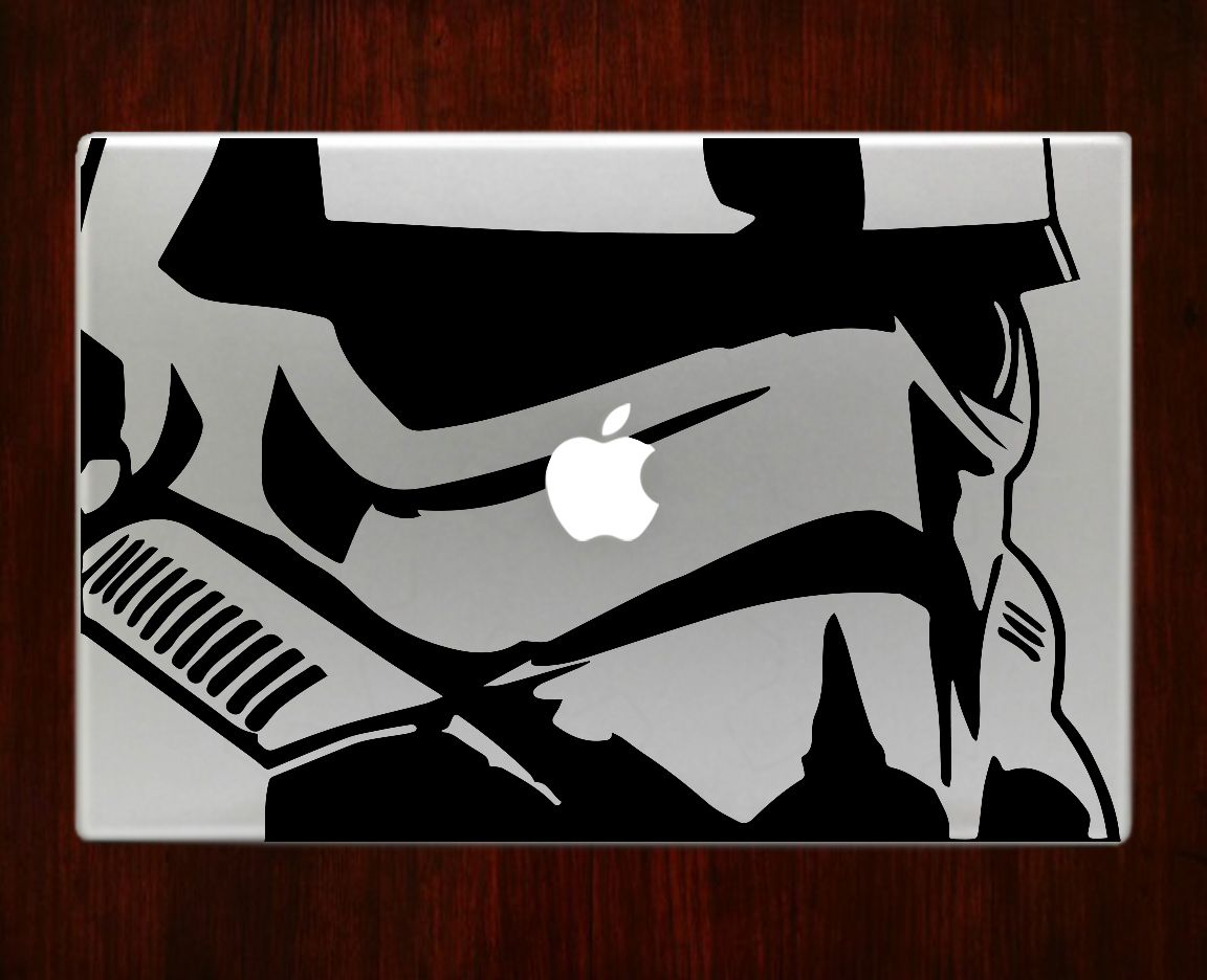 """stormtrooper star wars Decal Sticker Vinyl For Macbook Pro/Air 13"""" Inch 15"""" Inch 17"""" Inch Laptop Cover"""
