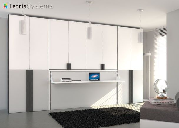 Composici n de armarios cama abatible horizontal esta configuraci n nos permite habilitar - Sistema cama abatible ...