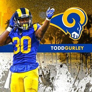 Todd Gurley LA Rams  3fcc0d7da