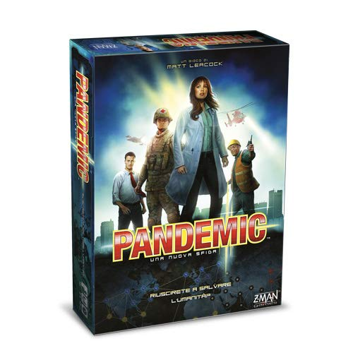 Pandemic Toys & Games Board games, Man
