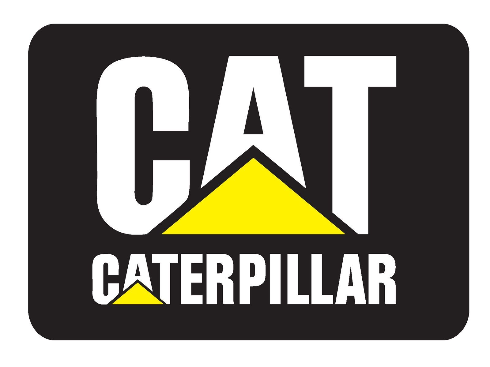 Caterpillar Vinyl Decal Sticker 5 Sizes Cat Logo Caterpillar Equipment Logos