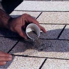 Use The Granules Of Your Shingles That Are Found In The Gutters To Repair Unsightly Marks On Your Roof Gutter Repair Repair Gutters