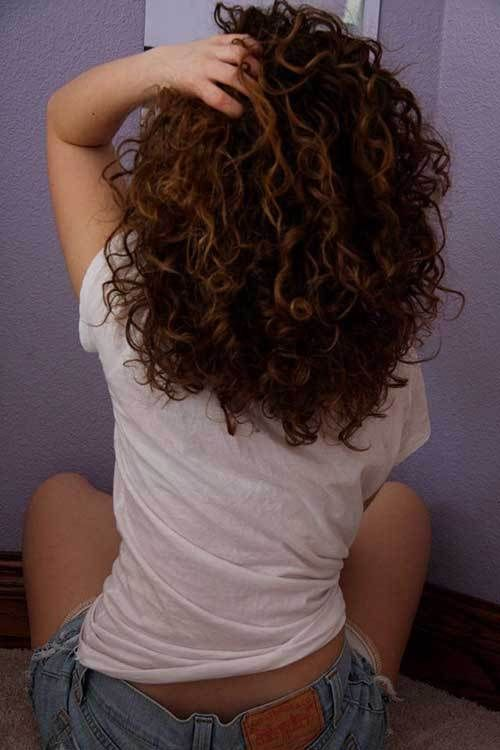 15 Beautiful Hairstyle Pics For Curly Hair Curly Hair Styles Hair Styles Long Hair Styles
