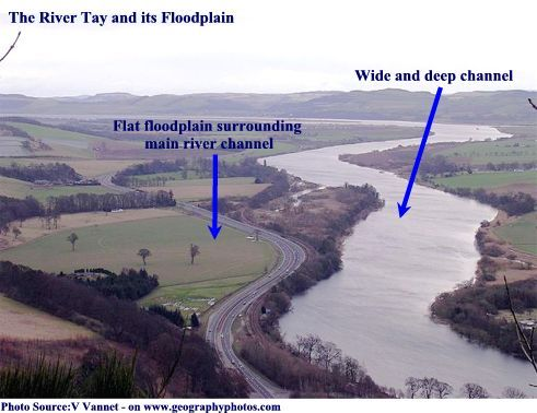 Vudeevudee S Geography Blog Lower Course Of The River Floodplain River Country Roads