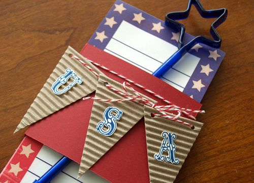 4th of July Notepad