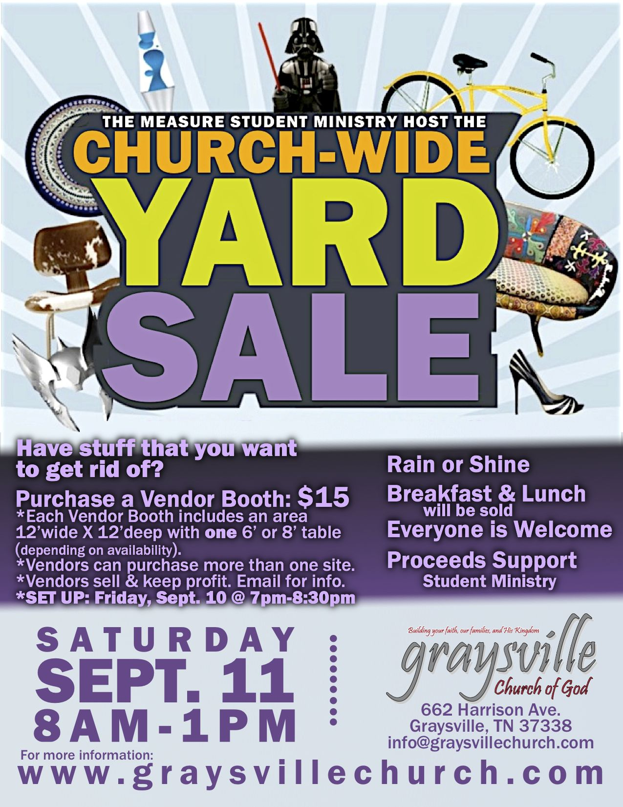 yard sale flyers