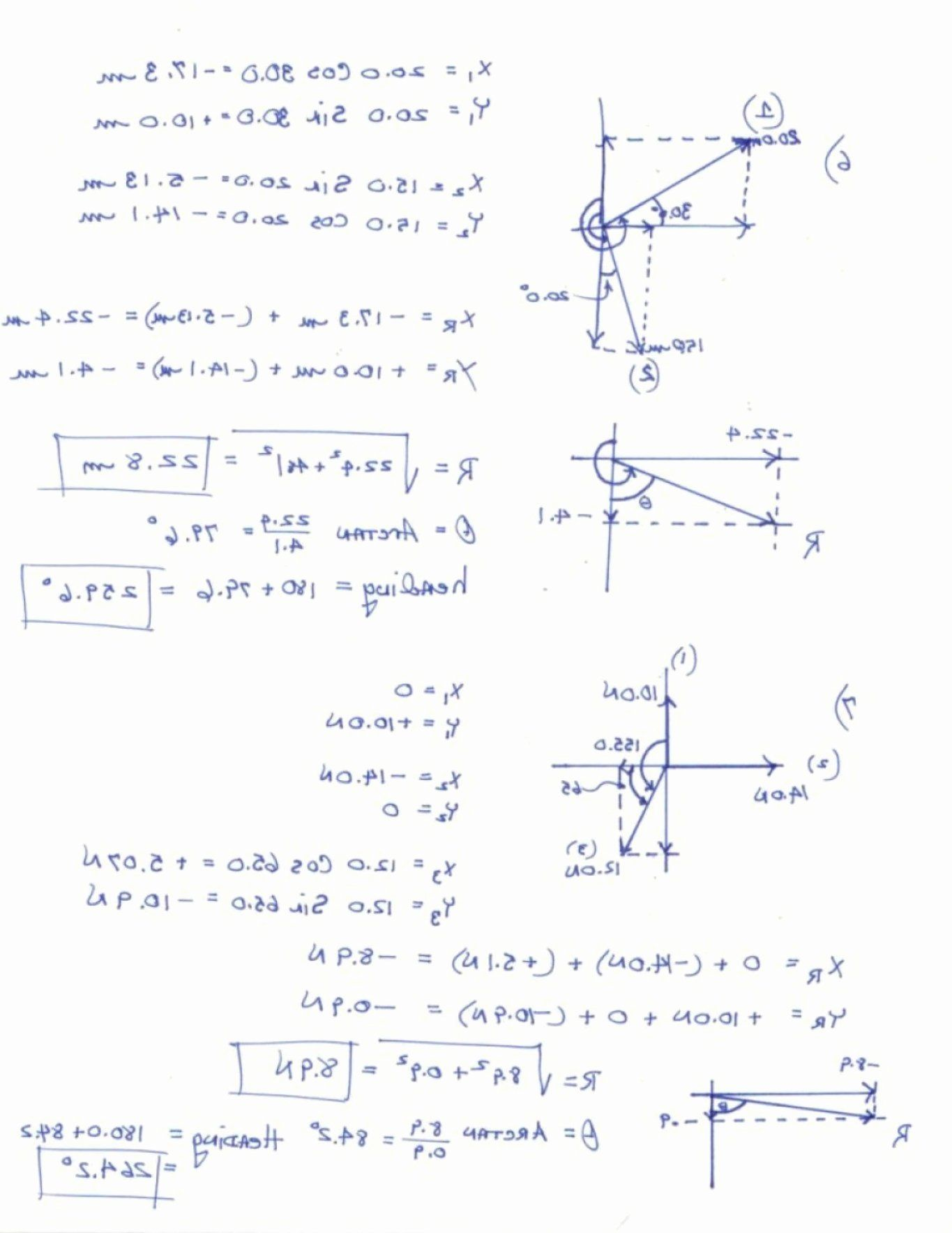 Vector Addition Worksheet with Answers Elegant Resultant