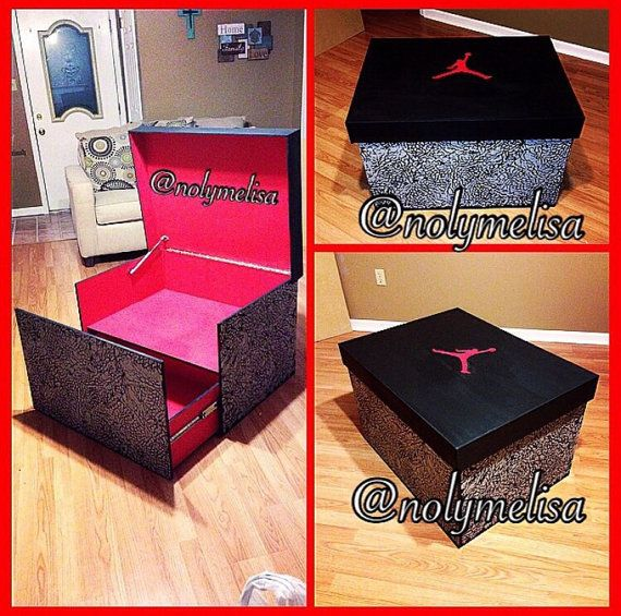 Handmade Shoe Storage Box. It Can Be Designed To Replicate Any Shoe Box  Youd Like