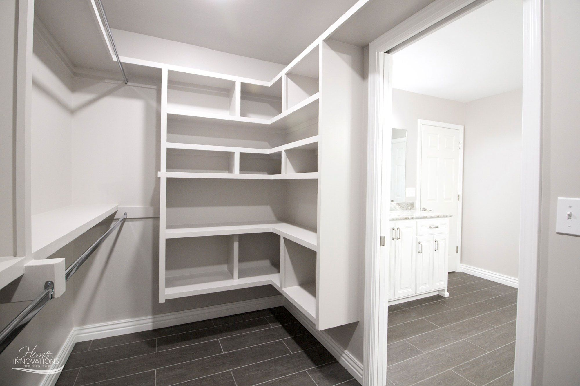Master Bathroom Remodel  New Master Closet With Builtin Shelves Best Tulsa Bathroom Remodeling Inspiration