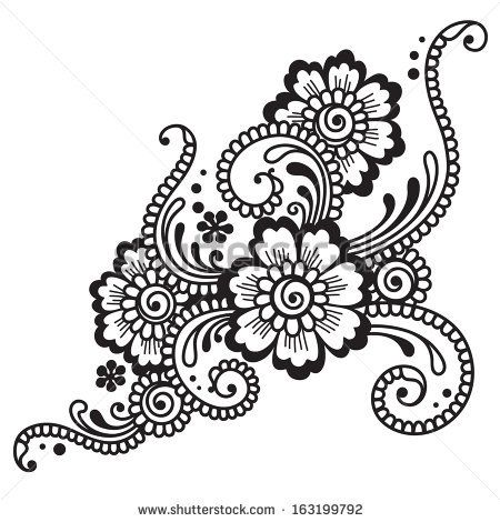Lace Tattoos for Women | Henna Stock Photos, Illustrations, and ...
