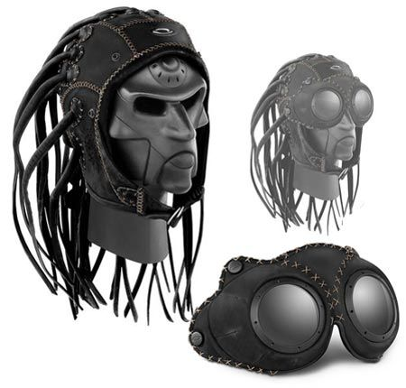 YEEEEEES!!!  Oakley Medusa Googles and hat.  If I didn't already have dreads and I had a lot of money to throw at useless things, these would be mine.