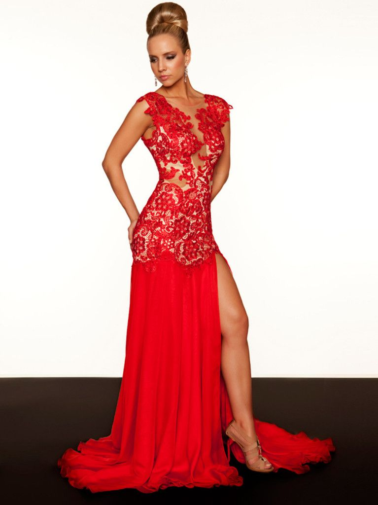 Vestidos Vermelhos De Renda Para Formatura All Things Red