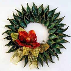 Festive Chrismas Wreaths -Craftster blog
