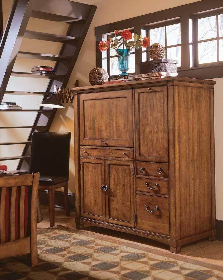 american drew beacon ridge computer armoire