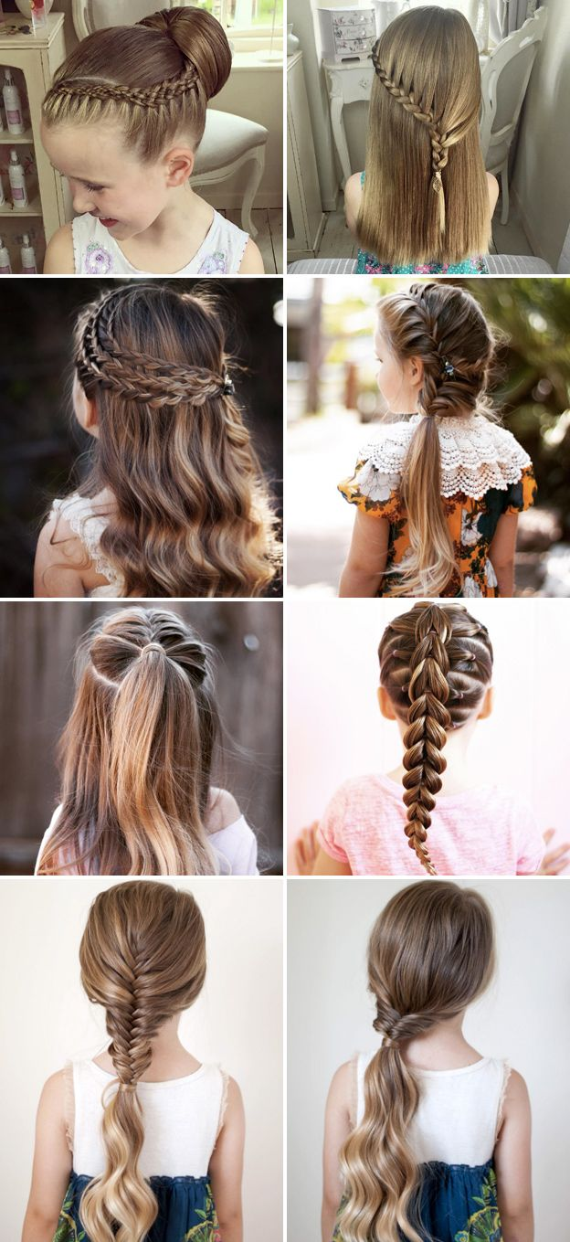 Cute Hairstyles For Girls Magnificent 50 Cute Back To School Hairstyles For Little Girls  My Hairstyles