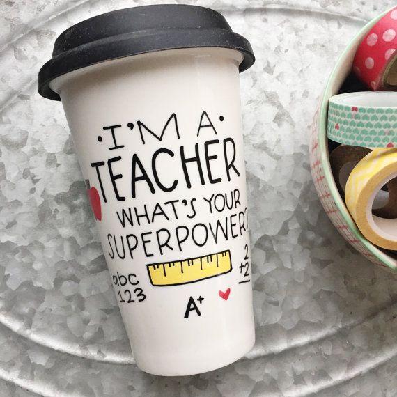 Teacher Mug I'm a TEACHER What's Your von MorningSunshineShop