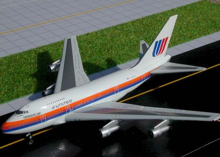 Gemini Jets GJUAL044 United B-747SP N147UA Friendship One | Airplane