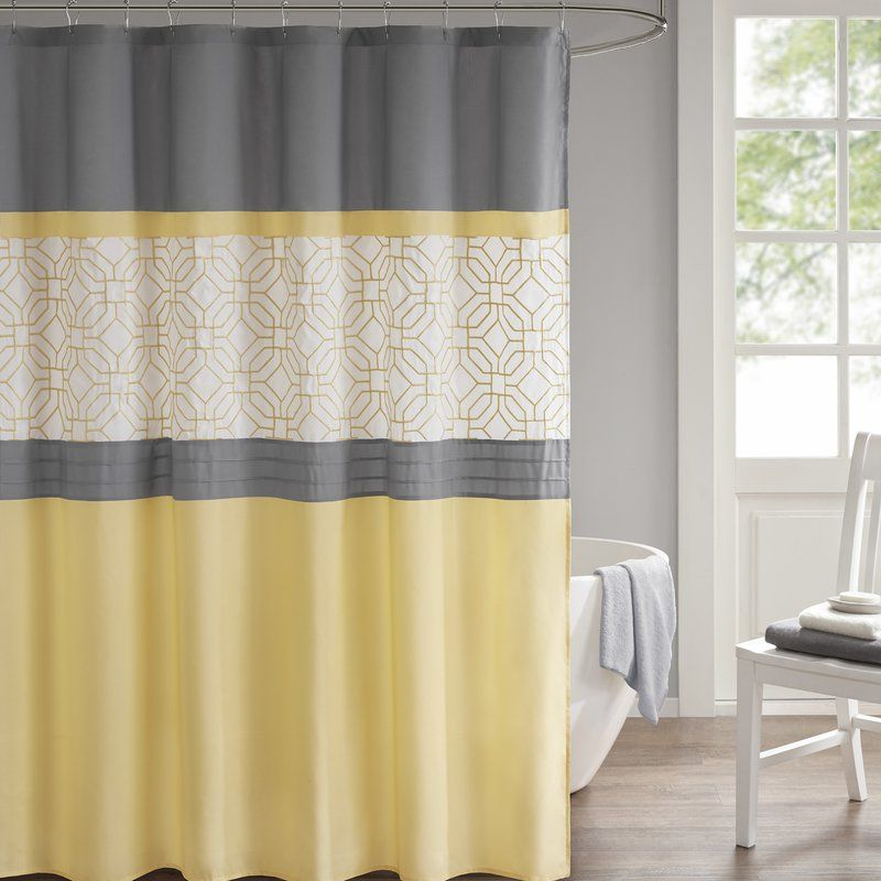 Osterman Embroidered Single Shower Curtain Curtains Shower