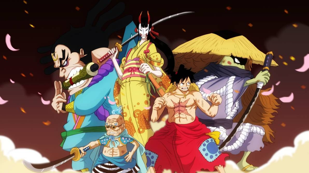 One Piece Chapter 971 Delayed New Release Date And Spoilers For Oden Saving The Scabbards From Execution One Piece Manga One Piece Episodes One Piece Chapter