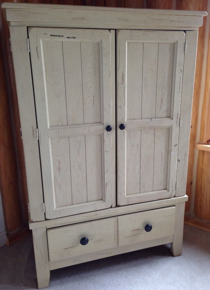 Broyhill Attic Heirlooms Armoire In White Stain Broyhill Furniture Furniture Collection