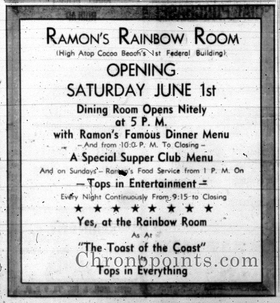 Ramon's Rainbow Room Rainbow room, Cocoa beach, Rainbow