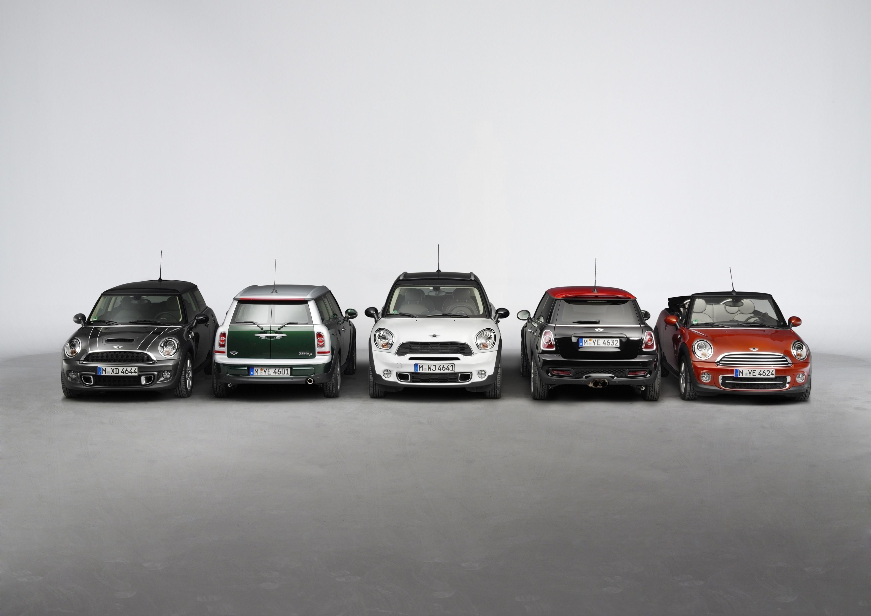 Mini john cooper works models pictures and information