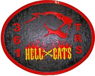 361 Trs Hellcats Squadron Plaque Air Force Retirement Gifts Hellcat Plaque