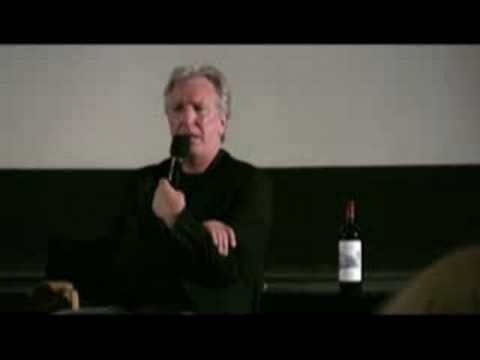 Alan Rickman Talks About Truly Madly Deeply Alan Rickman At The Pelham Picture House Pelham Ny Alan Rickman Alan Truly Madly Deeply