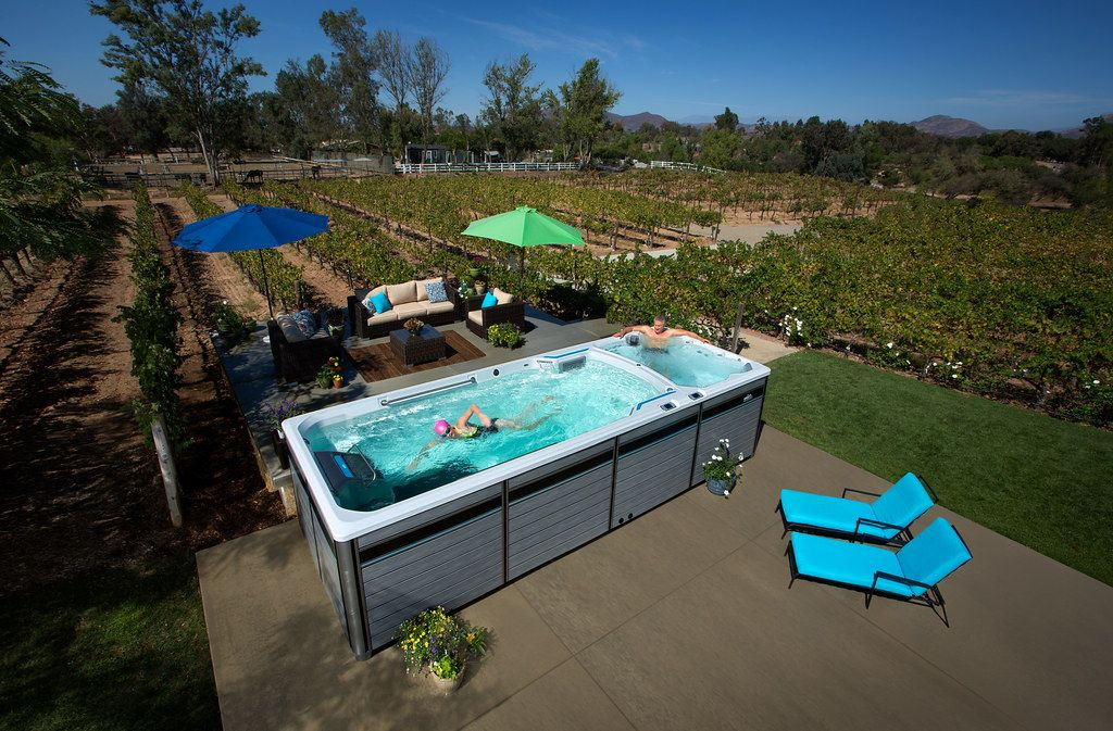Look At This From Endless Pools Backyard Pool Small Backyard Pools Endless Pool