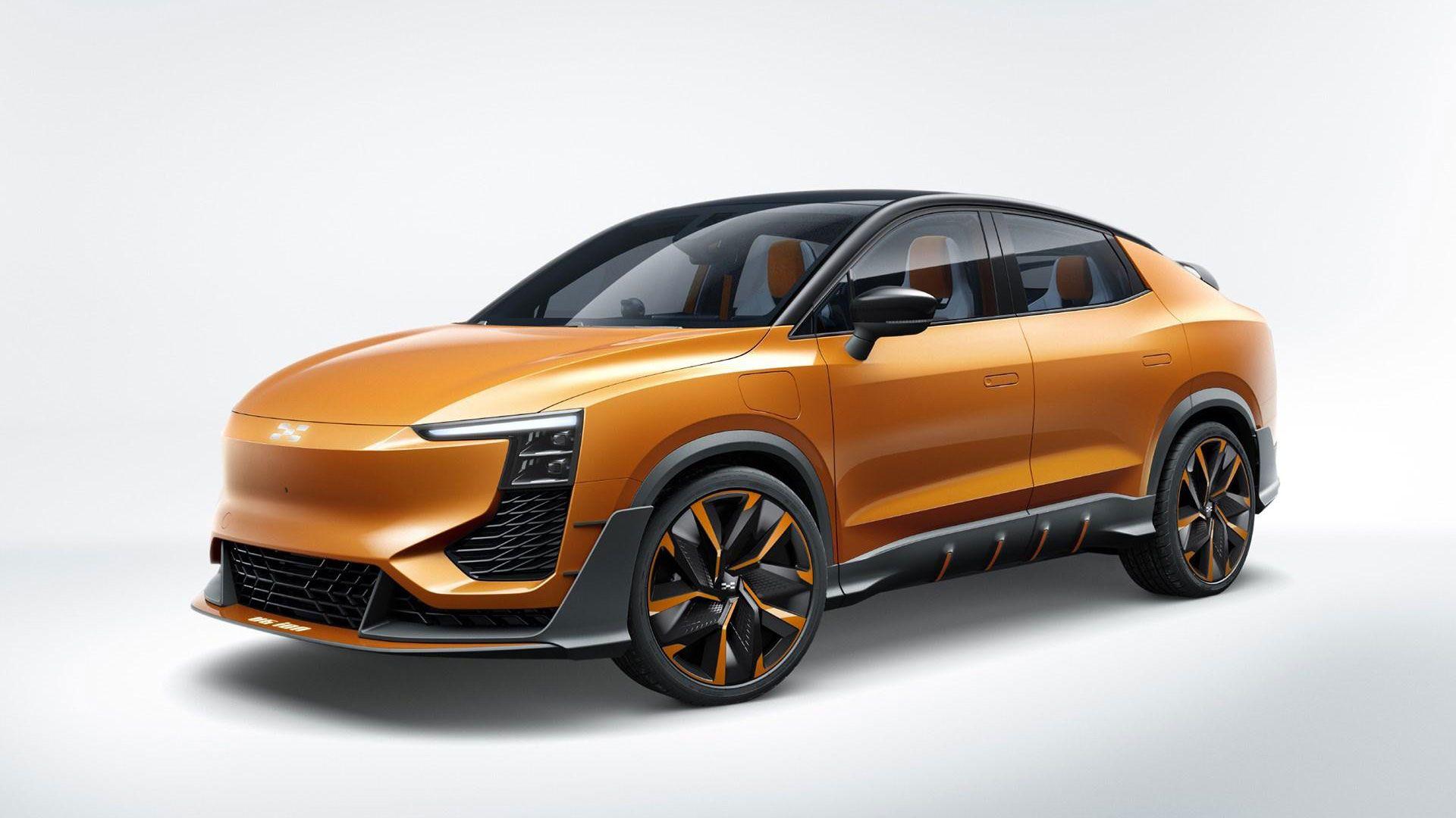 Aiways U6 Ion Concept Car Concept Cars Coupe
