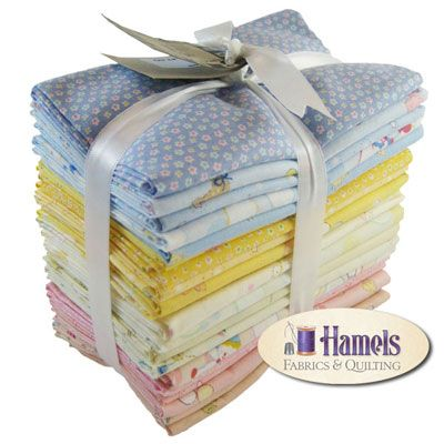 Baby Shower Collection Fat Quarter Bundle by Lecien