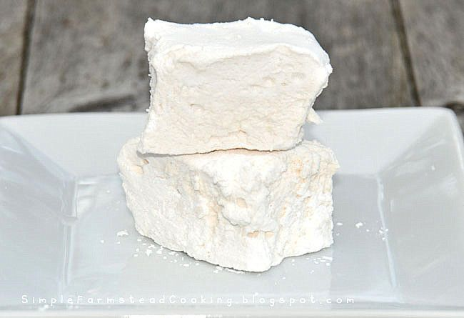 Simple Farmstead Cooking: Homemade Marshmallows