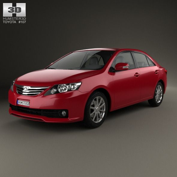 Toyota Allion (T260) 2010. Car 3D model. #3D #3DModel #3DDesign #2014Year #4-doorCar #allion #facelift #JapaneseCar #saloon #sedan #t260 #toyota #ToyotaAllion