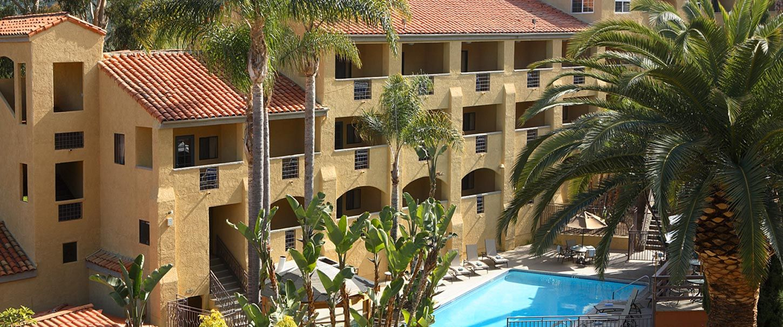 Enjoy spacious rooms, lavish amenities, a heated pool, hot