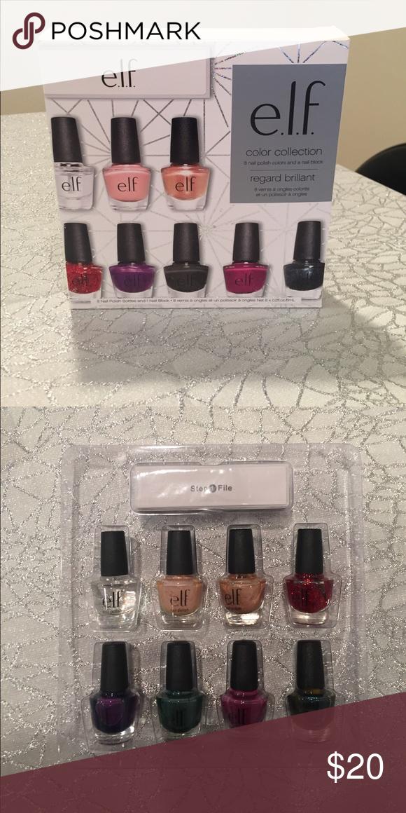 Elf nail polish set and nail block   Pinterest   Elf nail polish ...