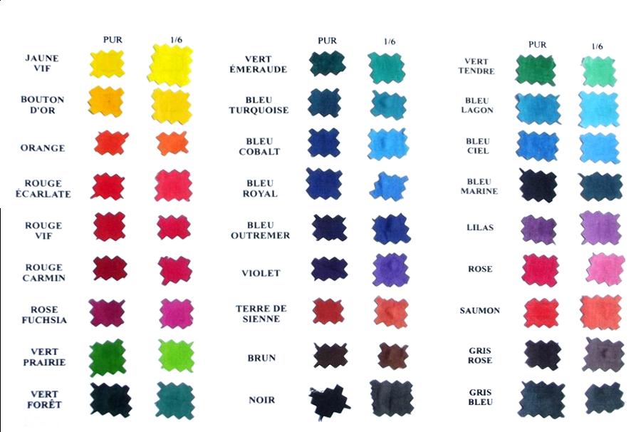 Nuancier   noms des couleurs en français | couleur en 2019