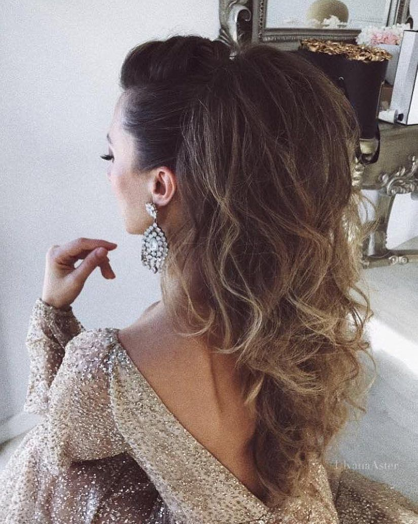Bouncy ponytail hairstyle #ponytail #hairstyles