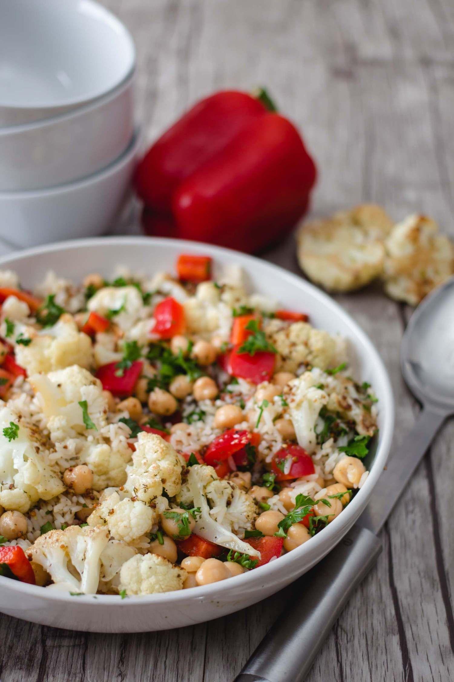 Photo of Salade de chou-fleur méditerranéenne – Noble Tandem