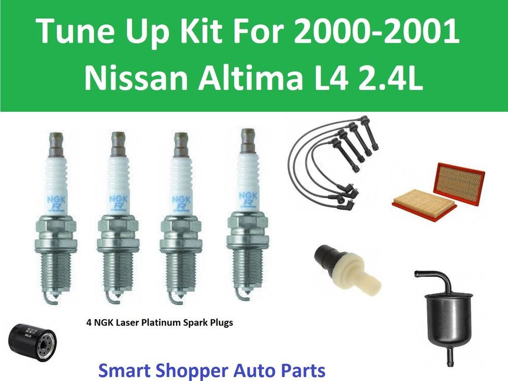 Details About Tune Up Kit For 2000 2001 Altima Oil Air Fuel Filter