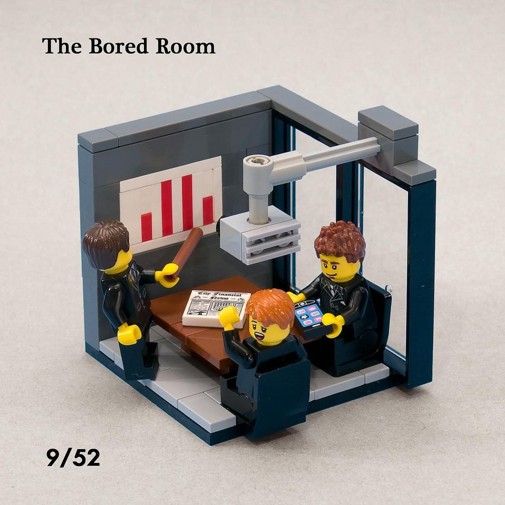 The Bored Room Lego Office Lego Creations Lego Furniture
