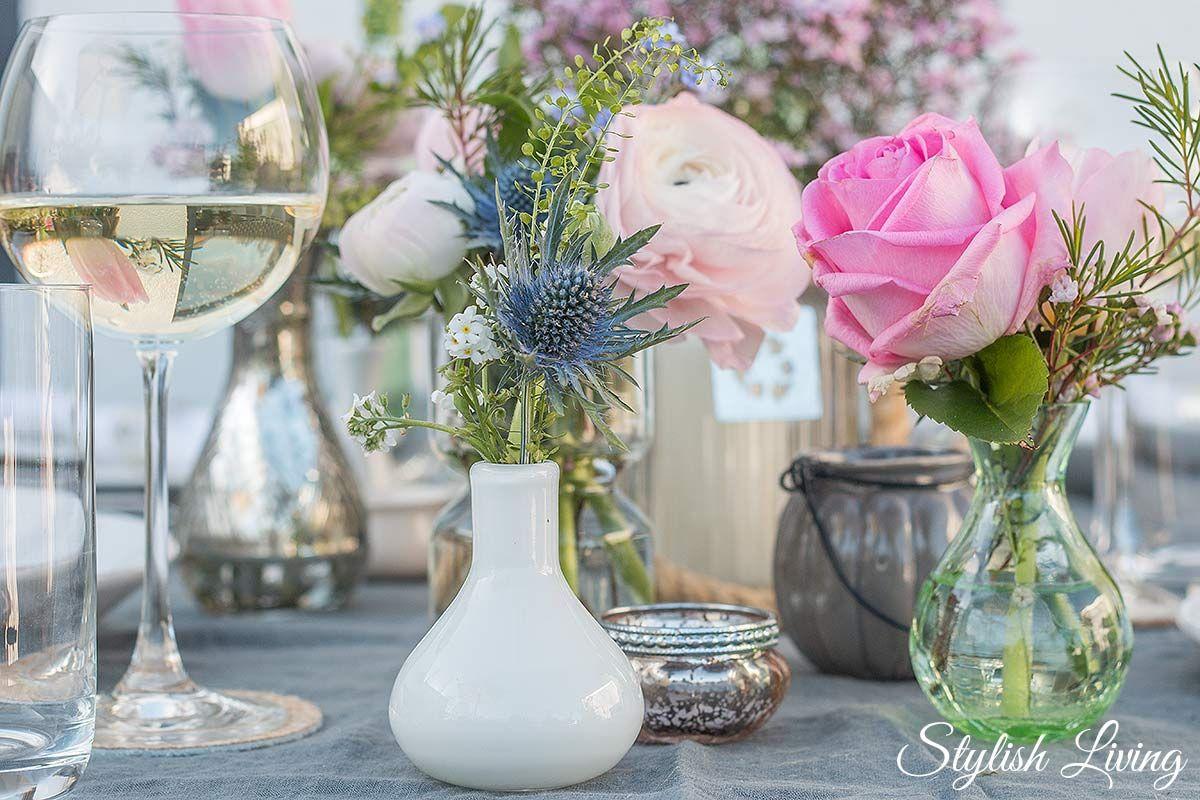 Fruhlingshafte Tischdeko Und Dazu Blanchet Sponsored Post