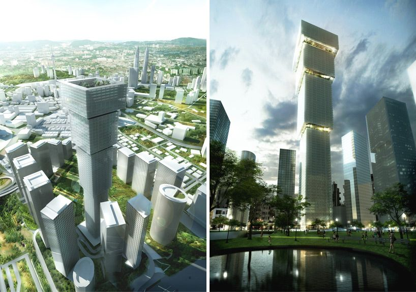 Bjarke ingels group big kuala lumpur signature tower for Architecture design company in malaysia
