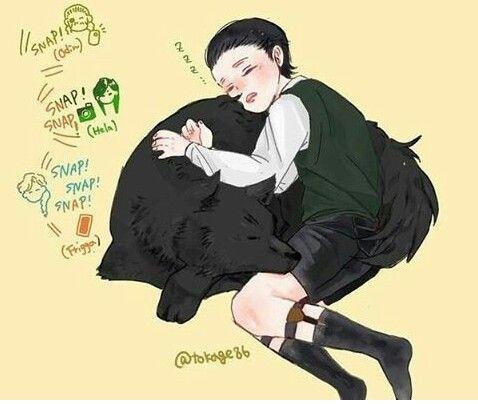 Young Loki And Fenris Loki Asgard Comics