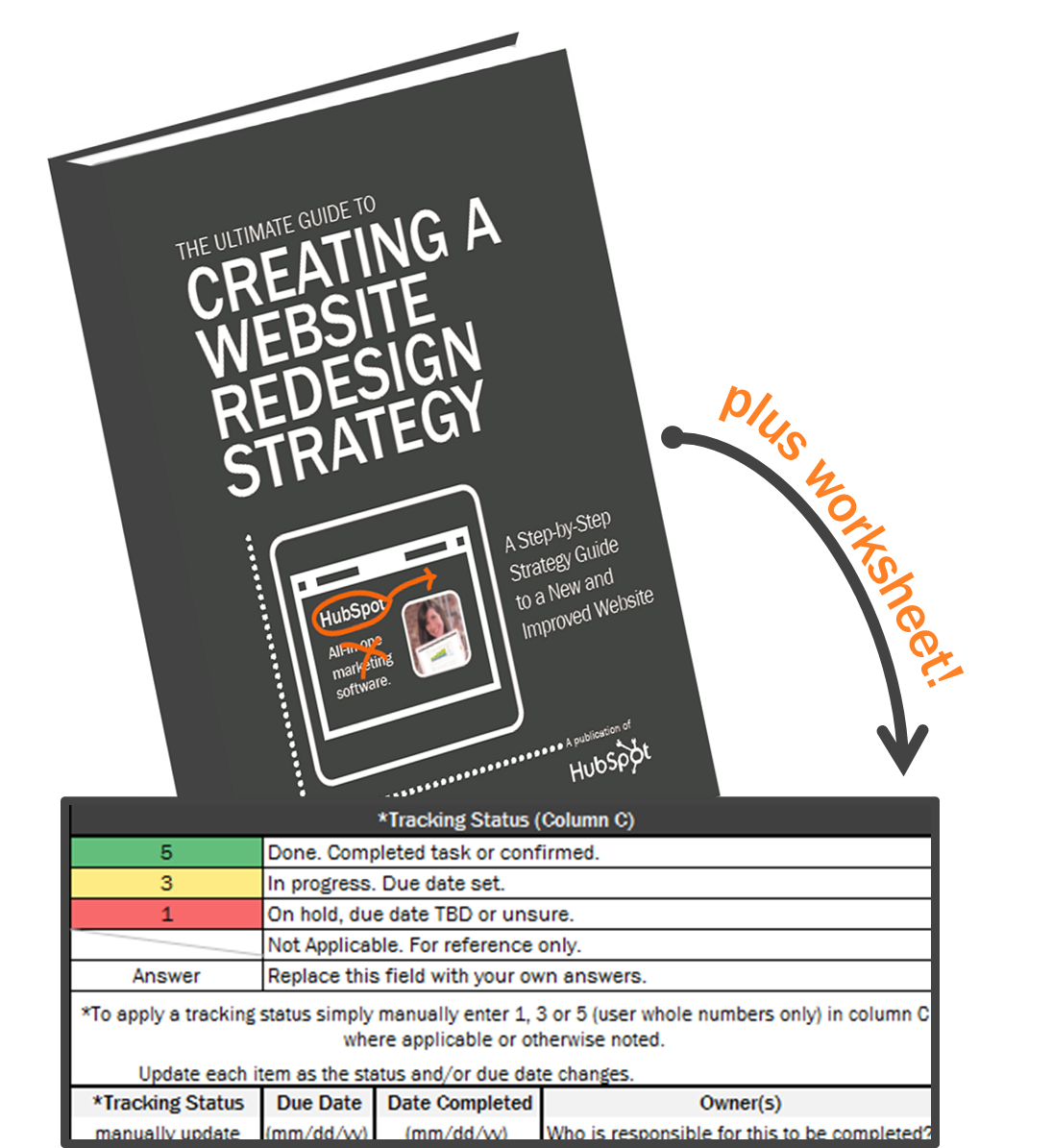 Website Redesign Planning Amp Progress Kit A Strategy Guide