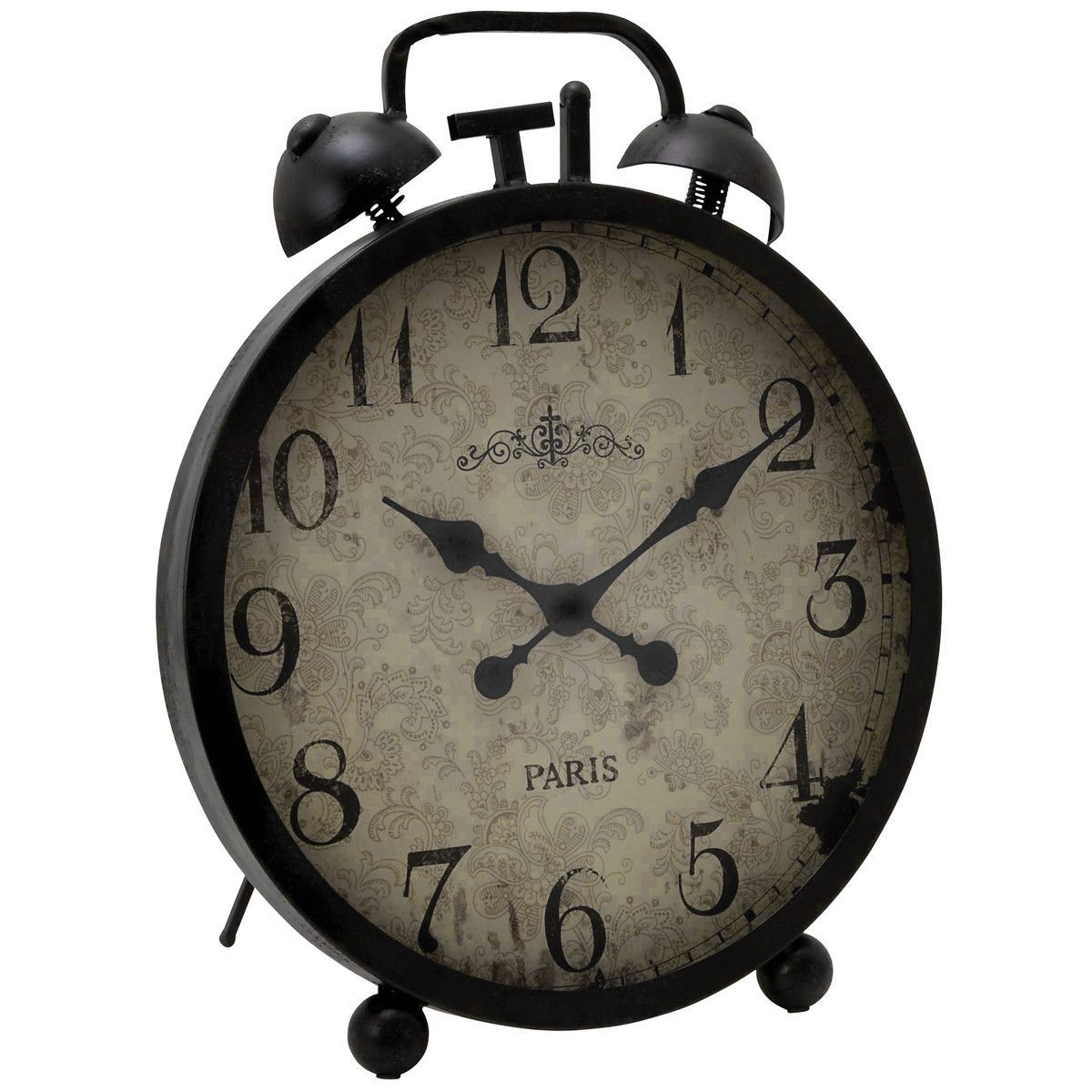 Urban Handcrafted Oversized Metal Table Clock