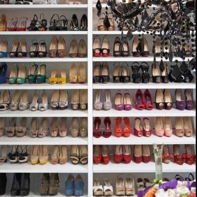 Nirvana, Bliss, Heaven...whatever You Choose To Call It.. Closet  DesignsDream ClosetsBedroom ClosetsGirls ...