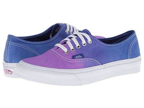 94de96b82bcaa2 Vans Authentic™ Slim (Ombre) Cloisonne Icy Green - Zappos.com Free Shipping  BOTH Ways