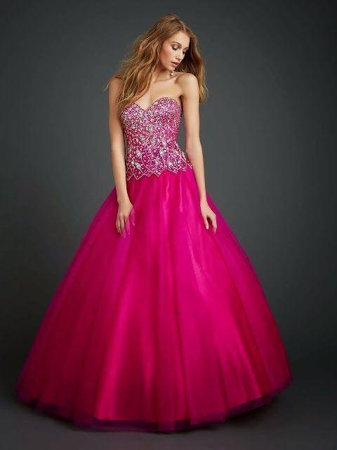 Atractivos Vestidos de 15 años tradicionales | Moda 2014 | vestidos ...
